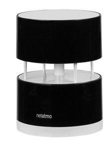 Netatmo weather station wind gauge