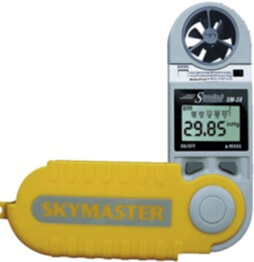 Weathrhawk SM-28 handheld weather meter
