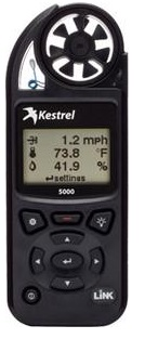 kestrel 5000 evnironmental meter / portable weather station
