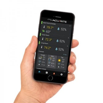 weather station smartphone app