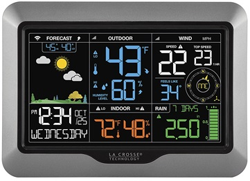 La Crosse 330-2315 weather station display