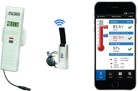 LaCrosse Alerts Mobile 826-25101-GP Wireless Monitoring System