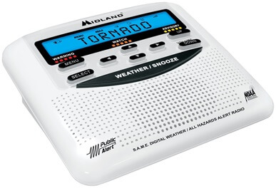 Midland WR120EZ - best noaa weather radio (budget)