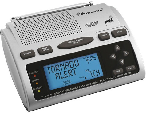 Midland WR300 - Best NOAA Weather Radio Review