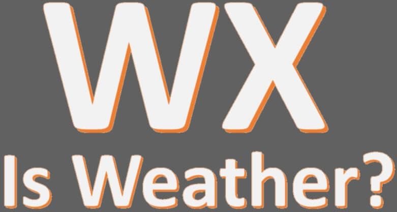 WX Abbreviation Meaning Weather