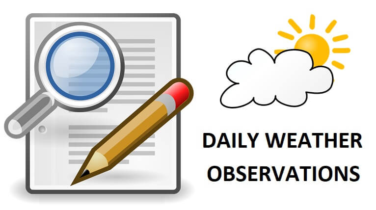 daily weather observations