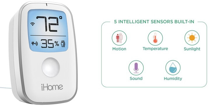 iHome iSS50 5-in-1 Smartmonitor