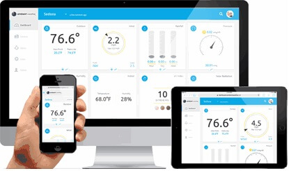 Ambient Weather Dashboard Mobile App