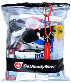 DIY Emergency Car Kit Example