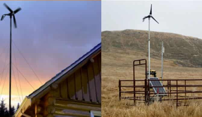 Residential Wind Turbine Images