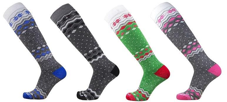 Pure Athlete Ski Snowboard Socks