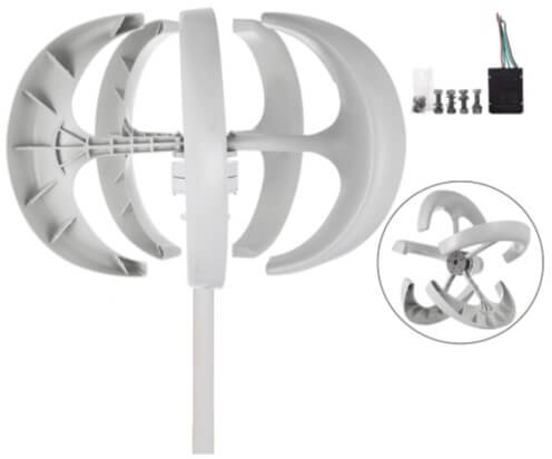 Happybuy Verticle Axis Wind Turbine