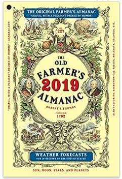 #4 Weather Gift - Farmer's Almanac