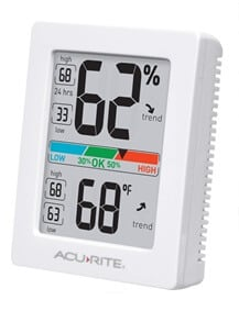 best humidity gauge - inexpensive