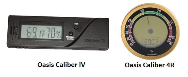 Best Cigar Hygrometer - Cigar Oasis Caliber IV and 4R