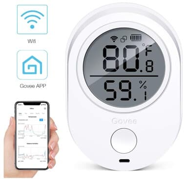 Best WIFI Hygrometer - Govee WIFI Hygrometer