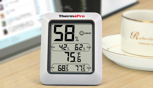 best cheap hygrometer - ThermoPro TP50