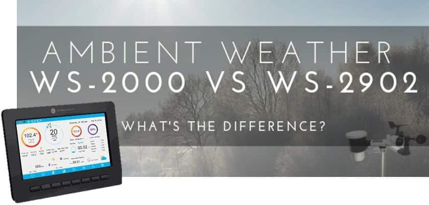 Ambient Weather WS-2000 vs WS-2902 link