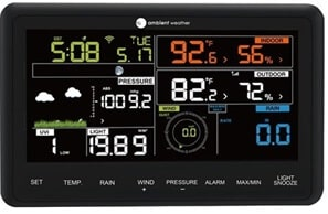 Ambient WS-2902 Display (Home Weather Station Review)