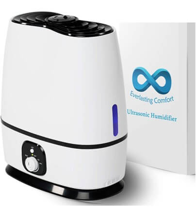 Everlasting Comfort Ultrasonic - Best Budget Humidifier
