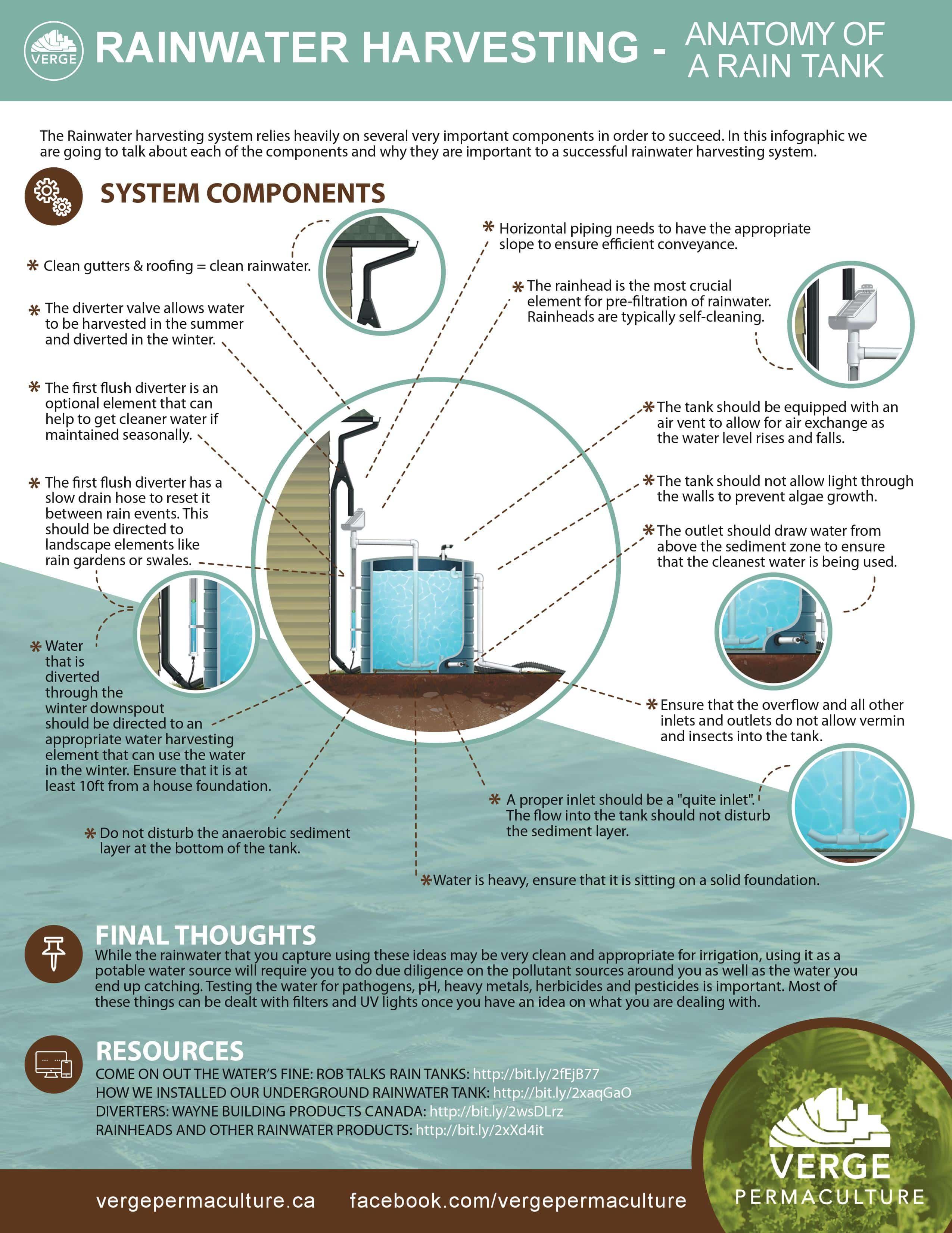 Rainwater Harvesting Infographic